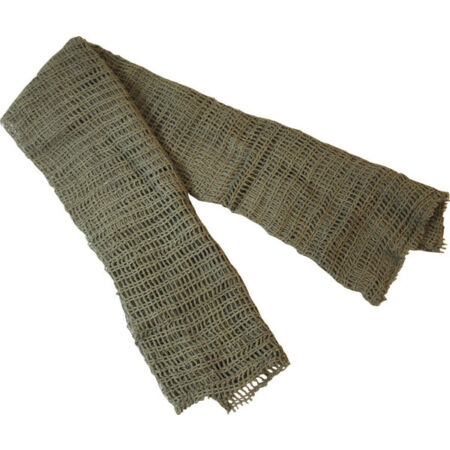img-BRITISH ARMY GREEN SCRIM - GRADE 1 USED - SCARF - FAST AND FREE POSTAGE