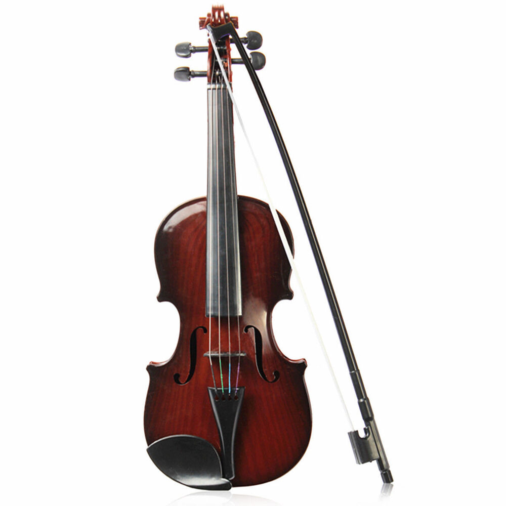 Toy Violins For 3 And Up : Full size kids simulation toys violin demo educational