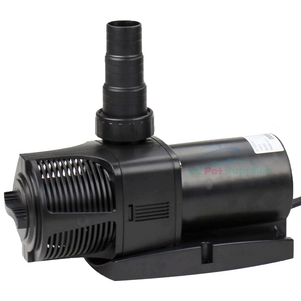 5300 gph aquarium fish pond water pump submersible for Koi pond pump and filter