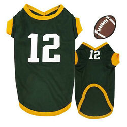 Aaron Rodgers Color & Number Large Dog Jersey Green Bay Packers CLOSEOUT!