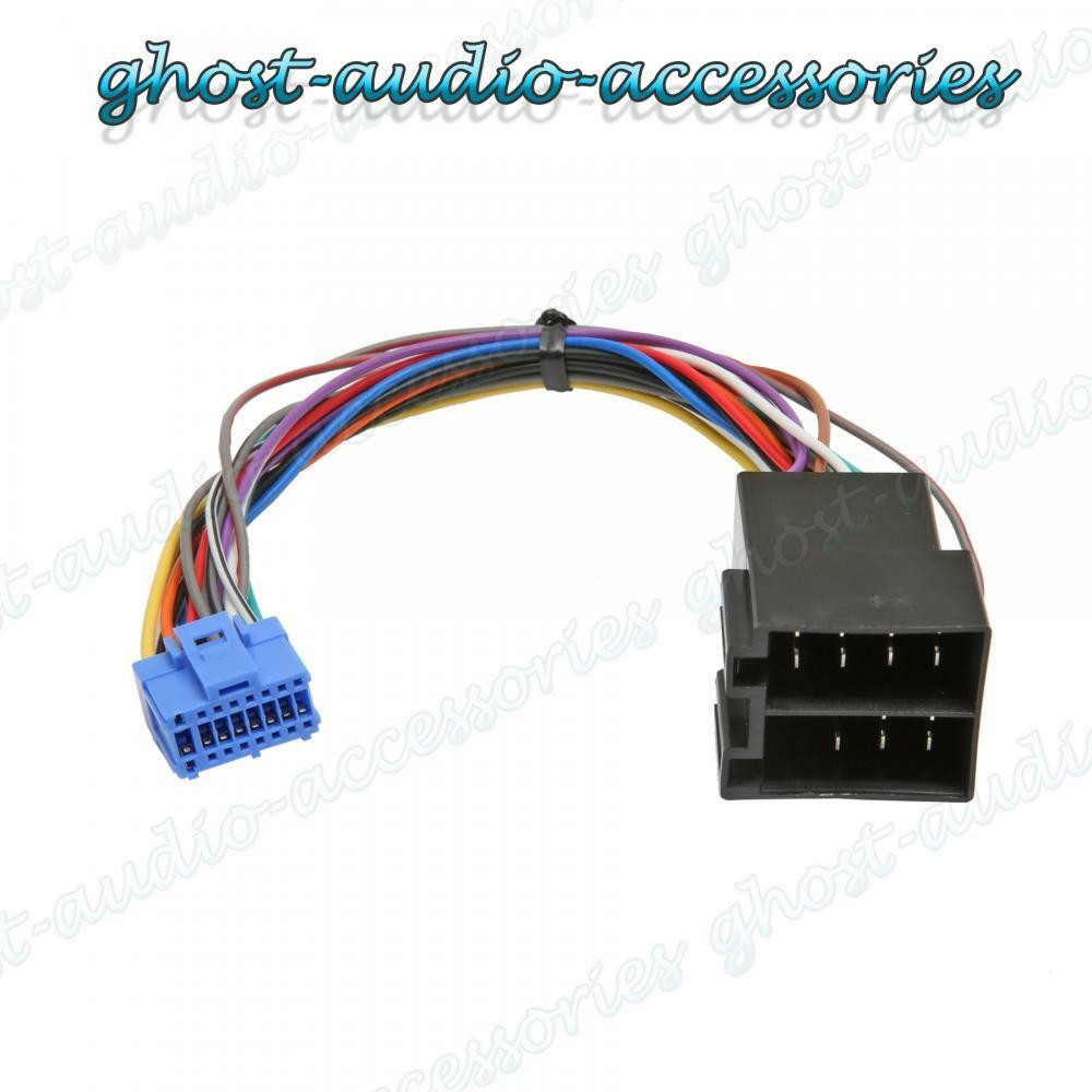 Pioneer Car Stereo Radio Iso Wiring Harness Connector Adaptor Cable Pi