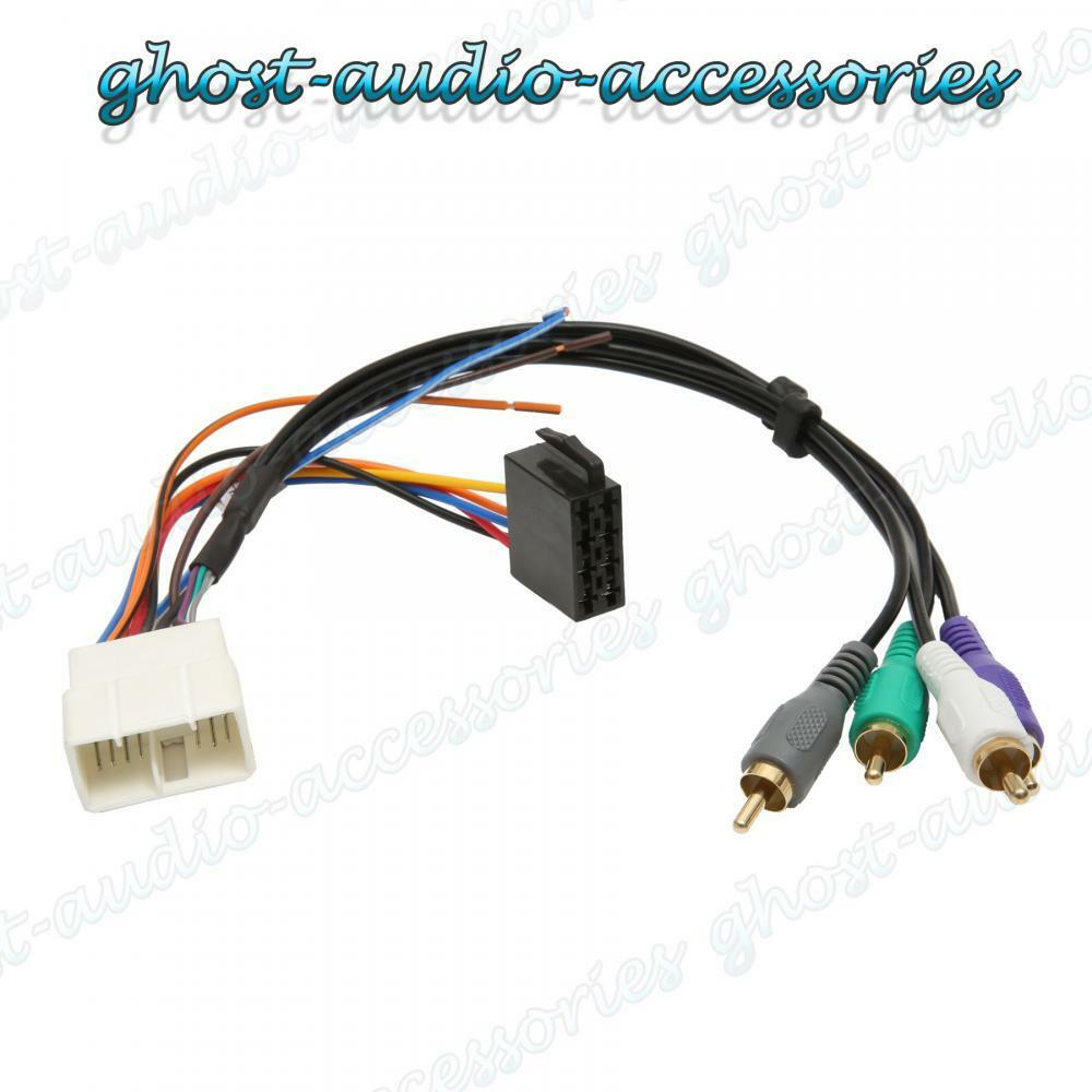 Toyota MR2 Active Amplified Car Stereo Radio ISO Wiring