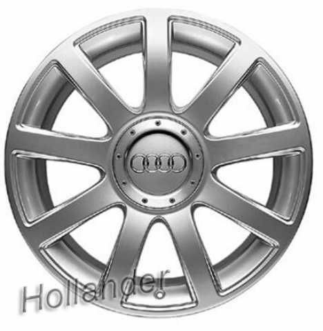 01 Audi A4 Wheel 17x7 5 Alloy 9 Spoke Hol 58755 4377