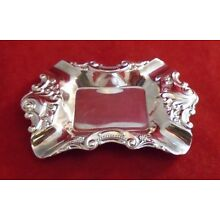 Baroque Silverplate by Wallace - Ashtray or Butter Pat Dish (#2198)