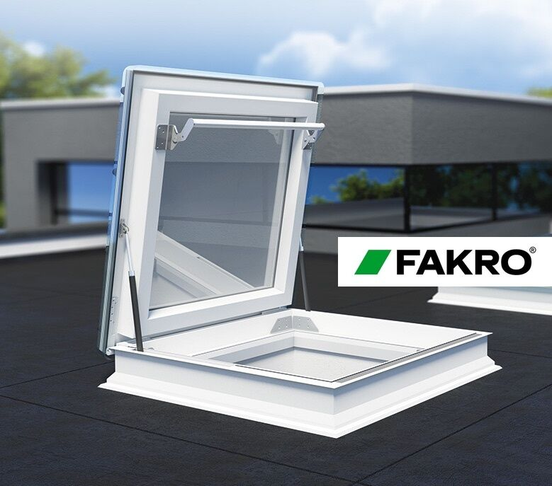 Fakro Drf Flat Roof Access Exit Window Escape Skylight