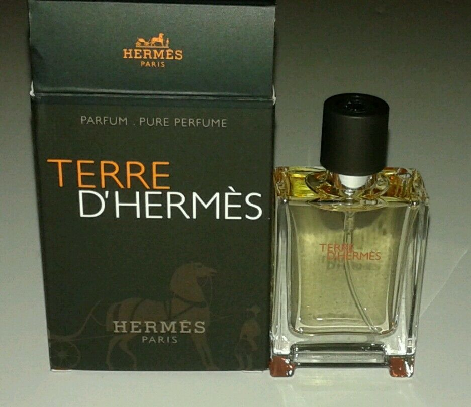 hermes terre d 39 hermes pure parfum spray for men oz. Black Bedroom Furniture Sets. Home Design Ideas