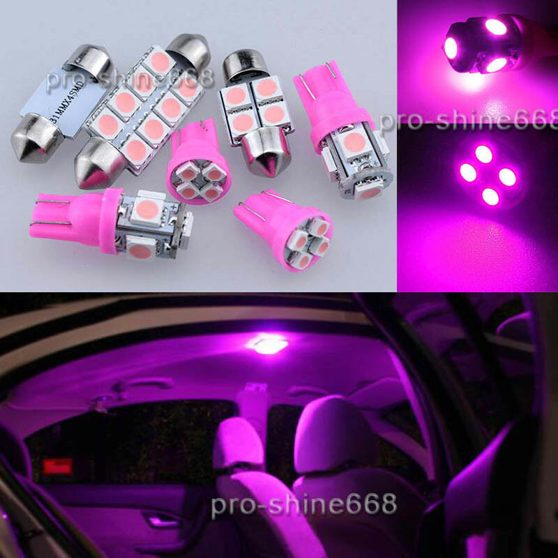Led Lights Interior Package Kit For Ford F 150 F150 2004 2014 13pcs Purple Pink Ebay