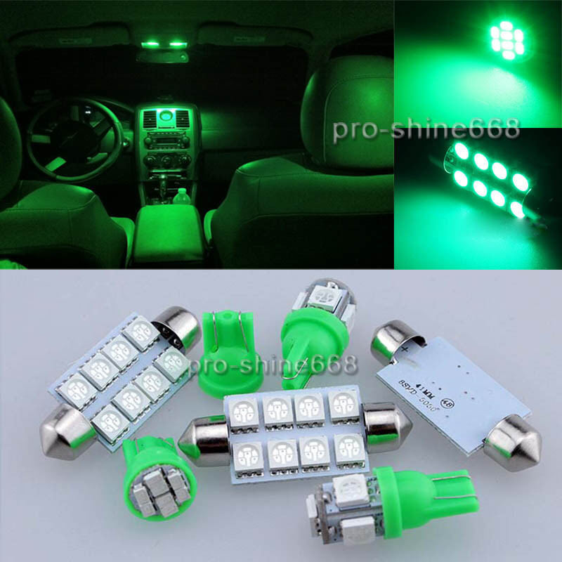 Led Lights Interior Package Kit Map For Ford F 150 F150 2004 2014 13pcs Green Ebay