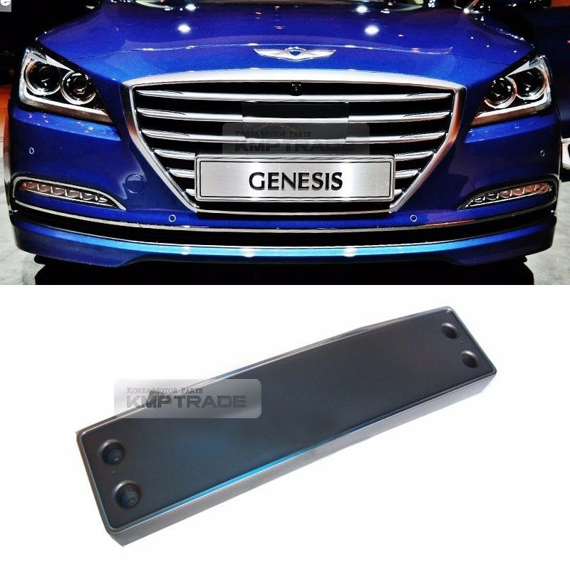 Oem Genuine Front Bumper License Plate Frame For Hyundai