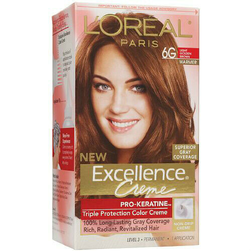 l oreal excellence creme kit 6g light golden brown 071249210611a699 ebay l oreal excellence creme kit 6g light golden brown 071249210611a699 ebay