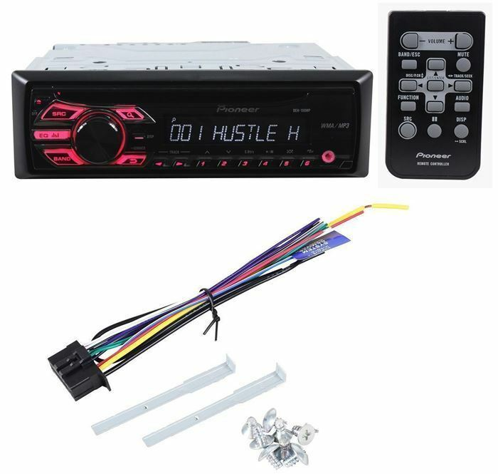 pioneer deh 150mp cd player mp3 in dash receiver 884938177948 ebay