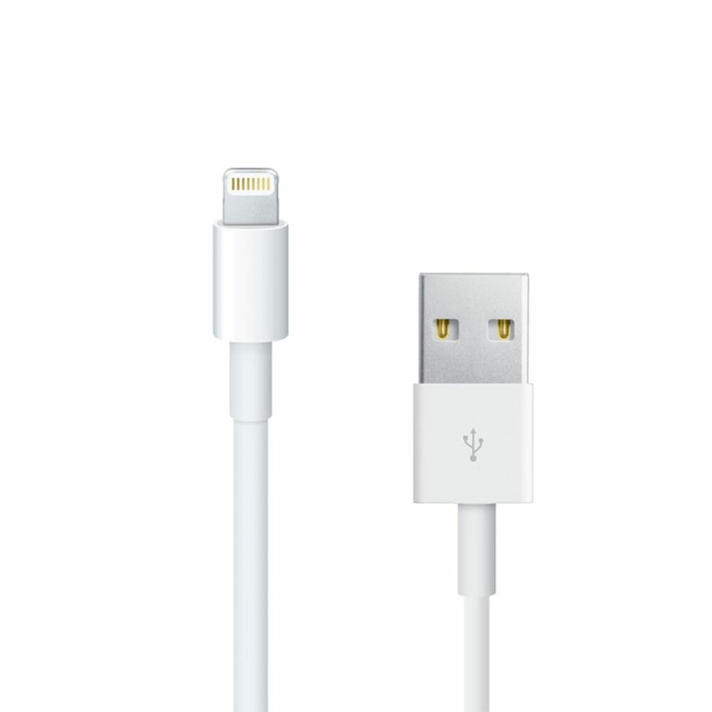1 meter usb lightning sync charger cable for iphone 5s 5c 6 ipad 4 air ebay. Black Bedroom Furniture Sets. Home Design Ideas