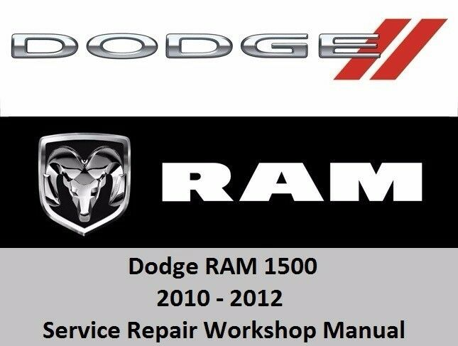 dodge ram 2010 2012 1500 service repair workshop manual cd. Black Bedroom Furniture Sets. Home Design Ideas