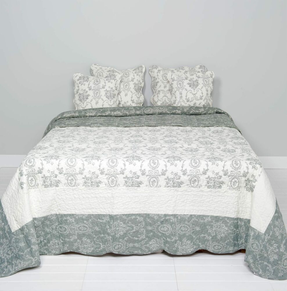 clayre eef tagesdecke quilt plaid shabby chic. Black Bedroom Furniture Sets. Home Design Ideas