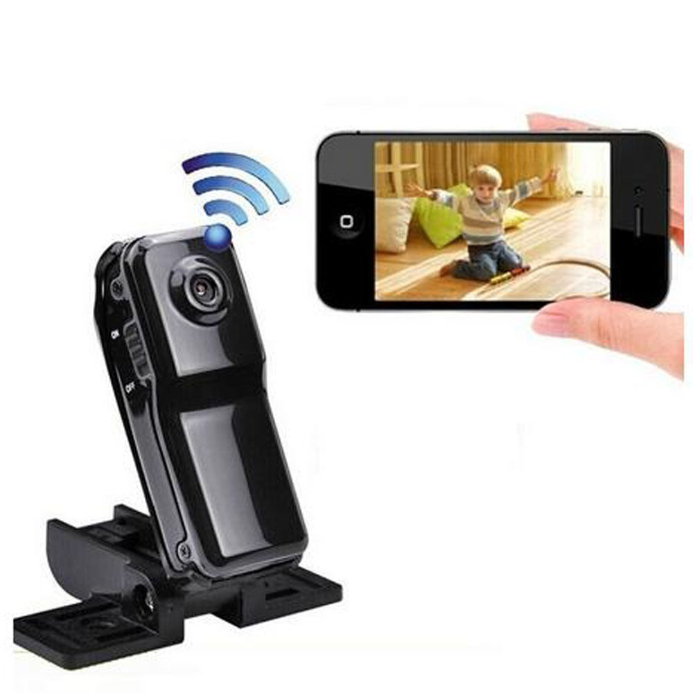 md81 mini wireless wifi ip remote surveillance security spy hidden cam dv camera ebay. Black Bedroom Furniture Sets. Home Design Ideas