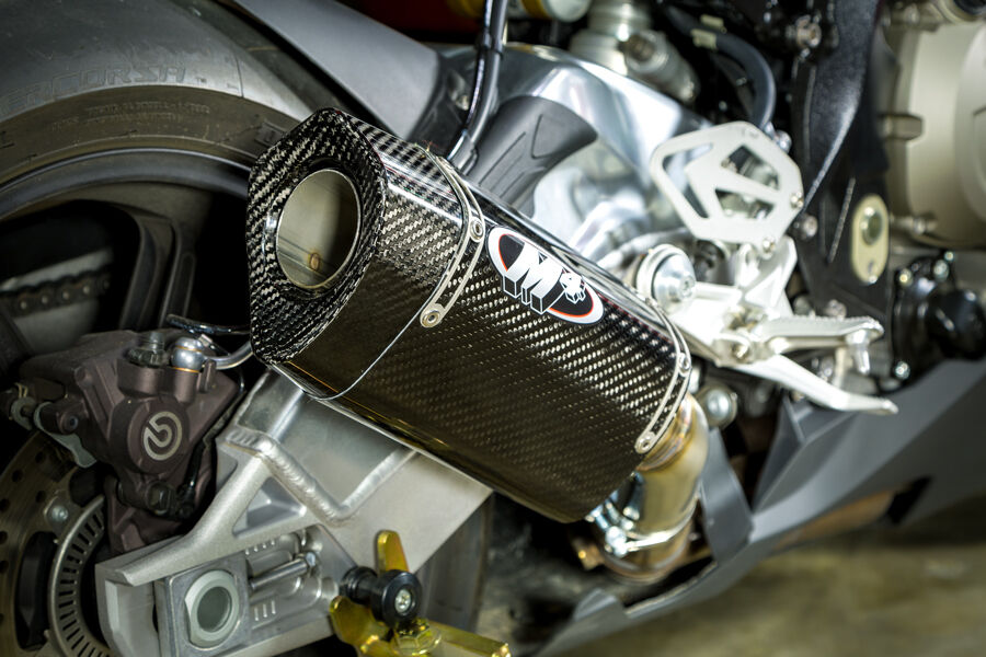 M4 Exhaust Bmw S1000rr 2015 2016 2017 2018 Slip On With Tech One