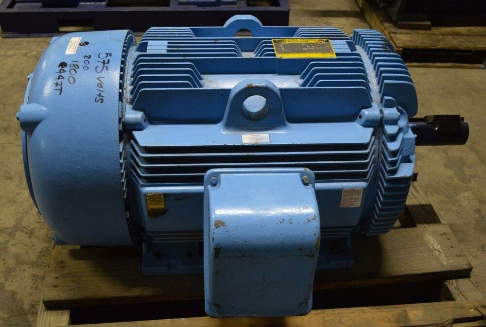 Baldor 200 Hp 1785 Rpm 447t 575v Ecp4407t 5 Electric