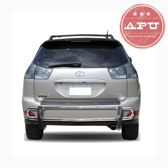FITS 2010-2015 Lexus RX350 RX450H Stainless Rear Bumper