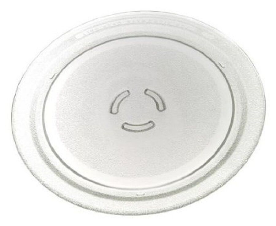 Microwave oven turntable carousel plate glass tray 12in kitchenaid part 4393799 ebay - Kitchenaid microwave turntable replacement ...