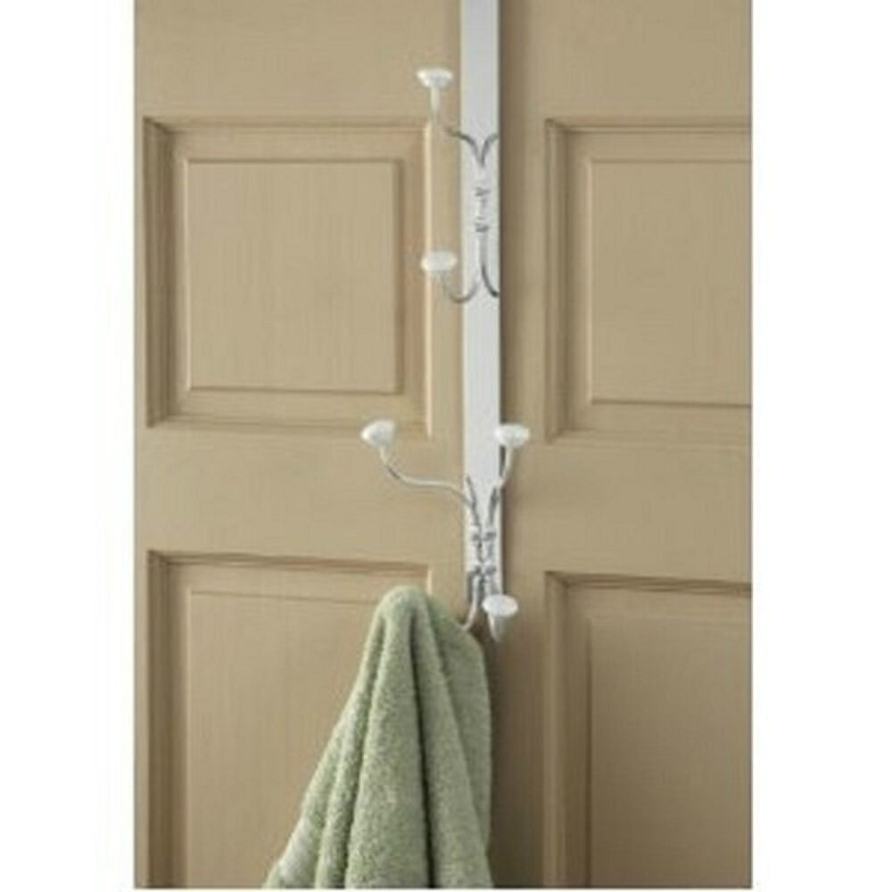over door versatile bathroom storage hook towels hooks ebay. Black Bedroom Furniture Sets. Home Design Ideas