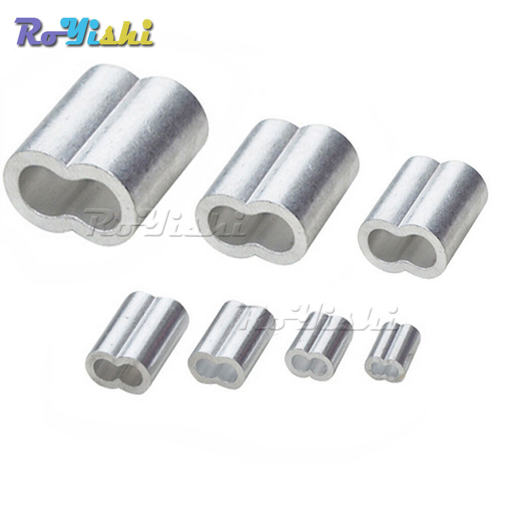 Mm aluminum cable double ferrule wire rope snare