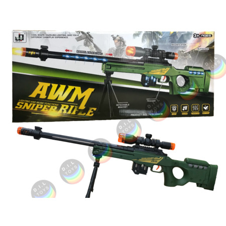 img-Combat 3 Army Commando Machine Gun Pistol With Lights And Sounds Kids Toy 56-71*