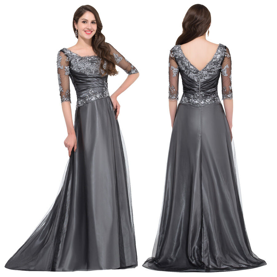 Ladies Gowns: Applique Vintage Sexy Women Long MAXI Bridesmaid Evening