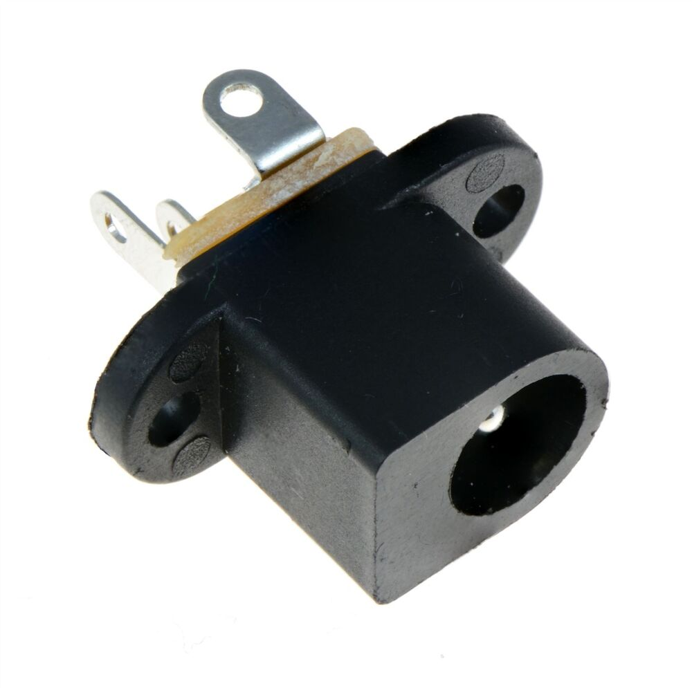 Mm chassis mounting dc power socket connector ebay