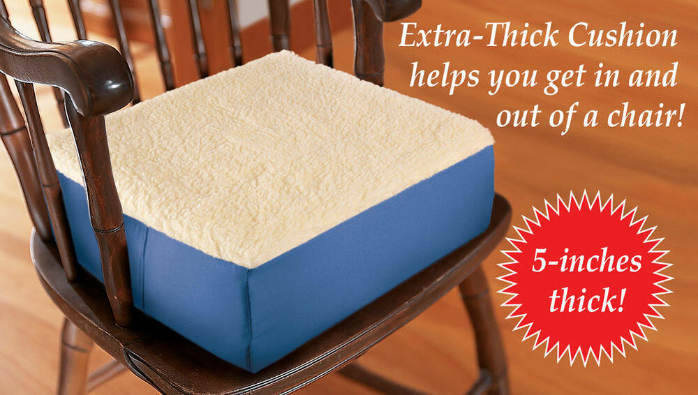 Extra Thick Seat Riser Cushion 5 Quot Lift For Use In Auto