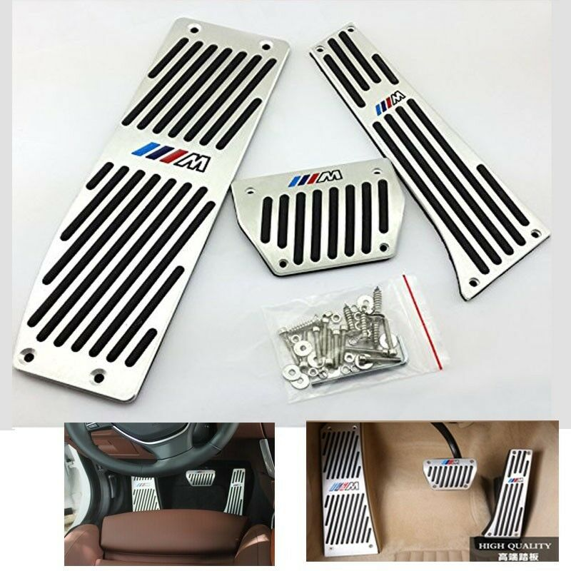 Foot Rest Brake Gas Pedal Plate Foot Pedal For Bmw M X3 F10 F11 F18 Auto At Ebay