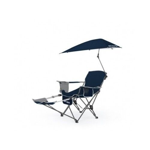 Reclining Camp Chair Recliner Lounge Beach Camping Lawn Folding Portable Outd