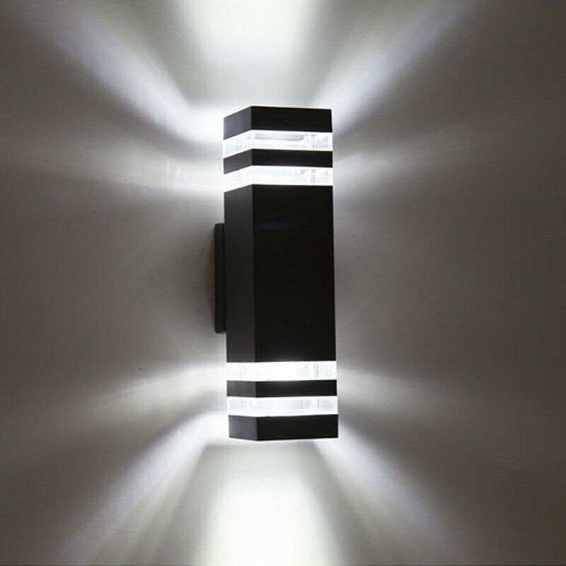 LED Exterior Wall Sconces Up/Down Light Waterproof