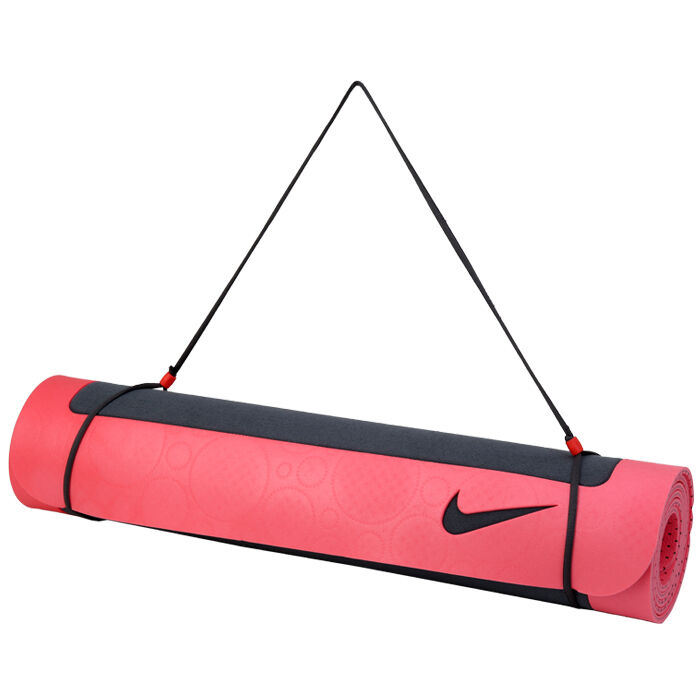 Nike Ultimate Yoga Mat 5mm Gym Pilates Floor Mat Pink