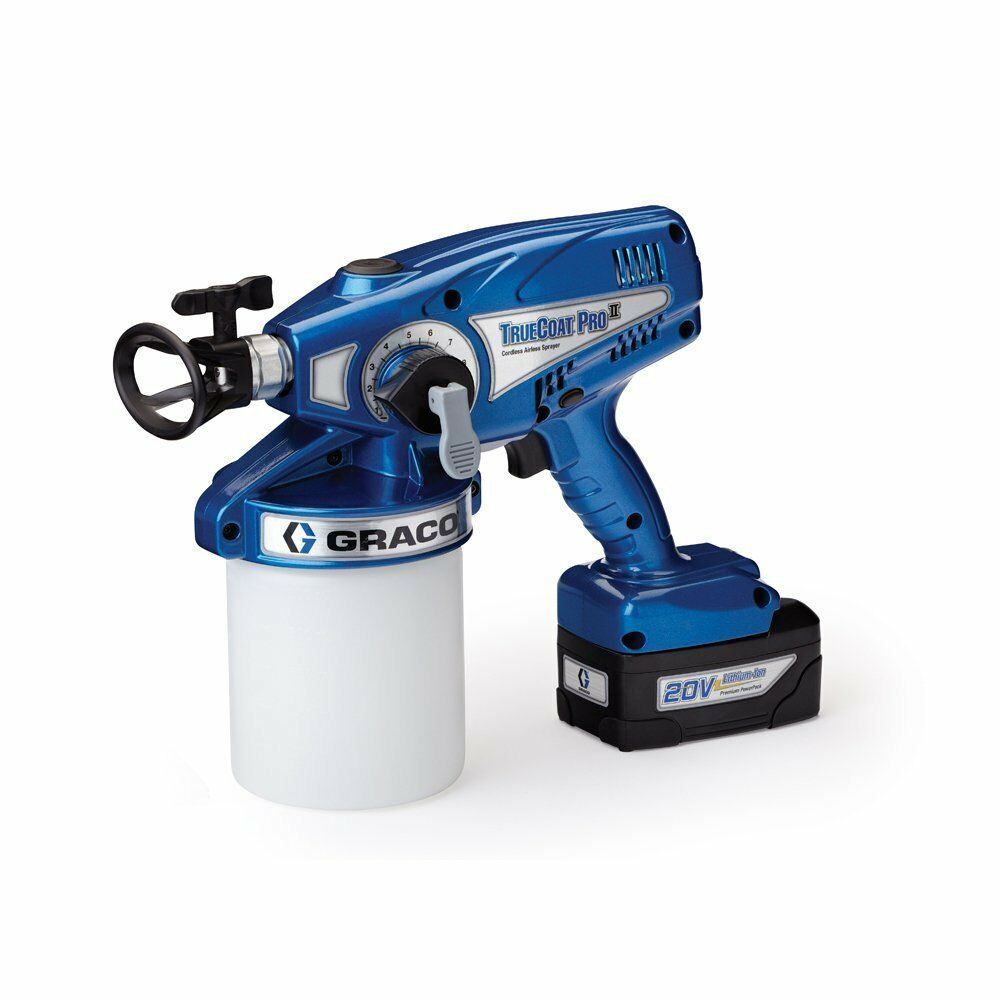 Graco Truecoat Pro Ii Cordless Airless Paint Sprayer