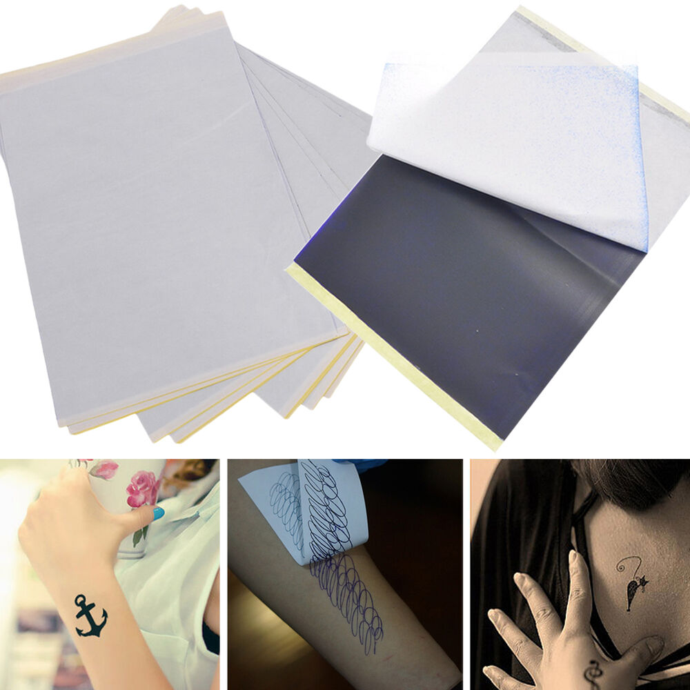 wow 5 sheets tattoo transfer carbon paper supply tracing