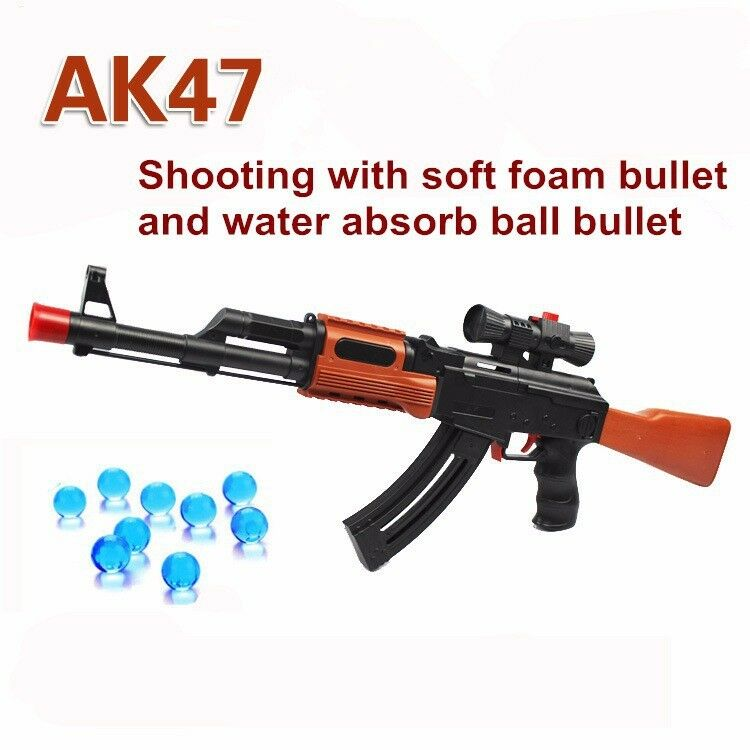 Nerf Gun Strike AK47 CS N Darts Blaster Toy Kids Rifle