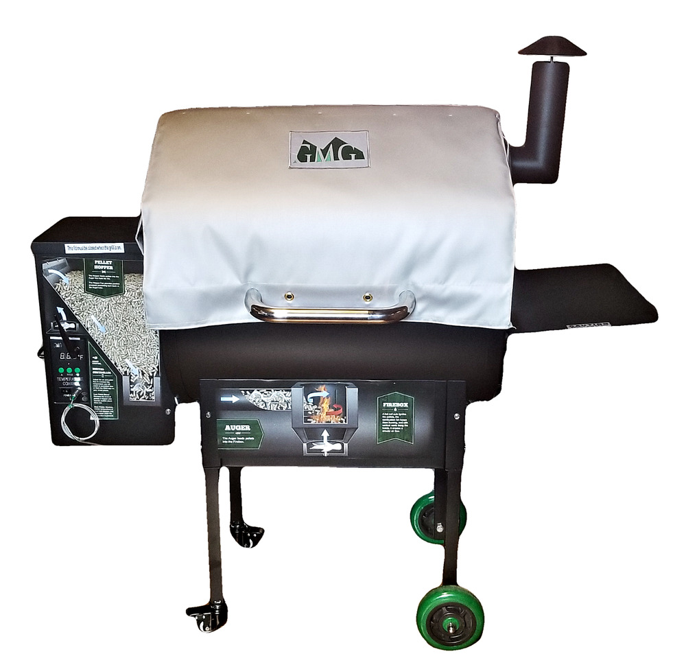Jim Bowie Thermal Blanket Bbq Grill Green Mountain