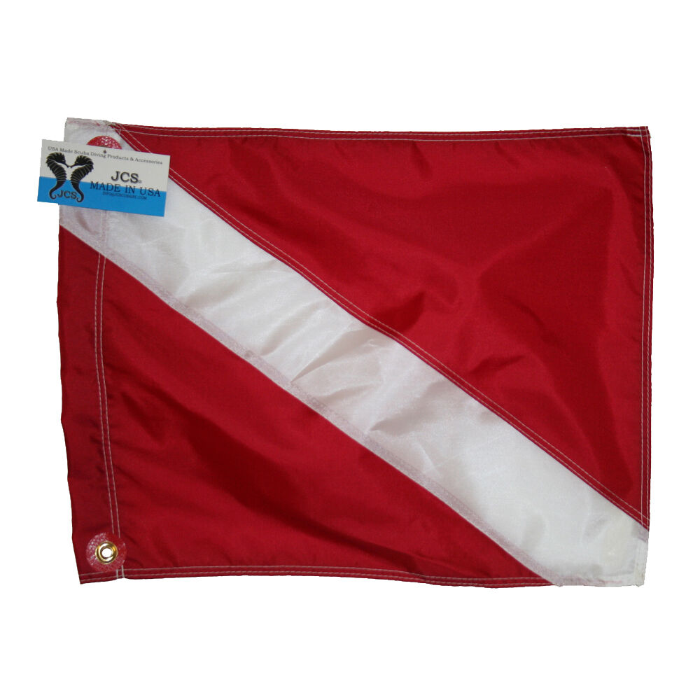 Nylon dive flag slip on style 20x24 ebay - Dive senza slip ...