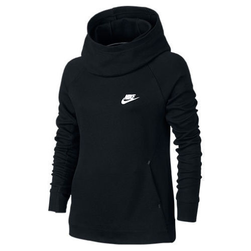 NEW Nike Girls Youth Tech Fleece Pullover Hoodie 679215 ...