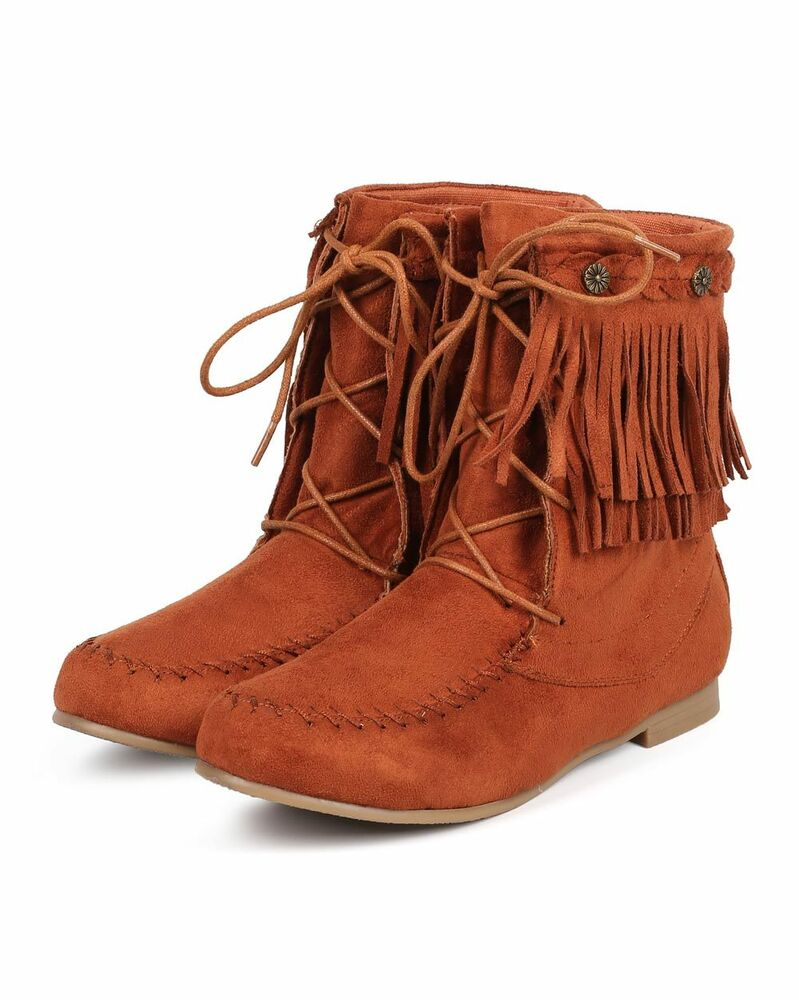 Fantastic Womens Winter Warm Casual Faux Suede Fur Lace-up Ankle Boots Snow Boots Shoes | EBay
