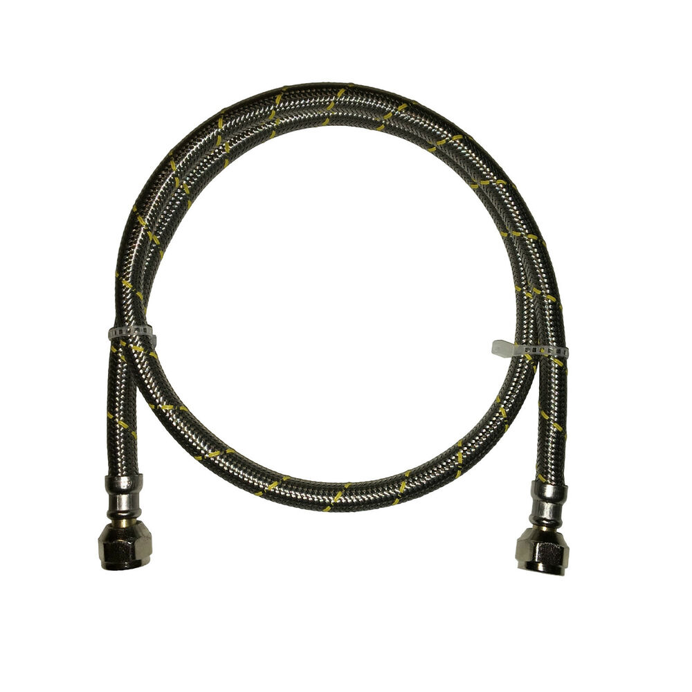 Propane Natural Gas Line 3 Ft Braided Hose Lp Lpg Grill
