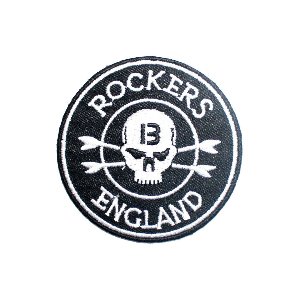 Iron on patches for leather jackets