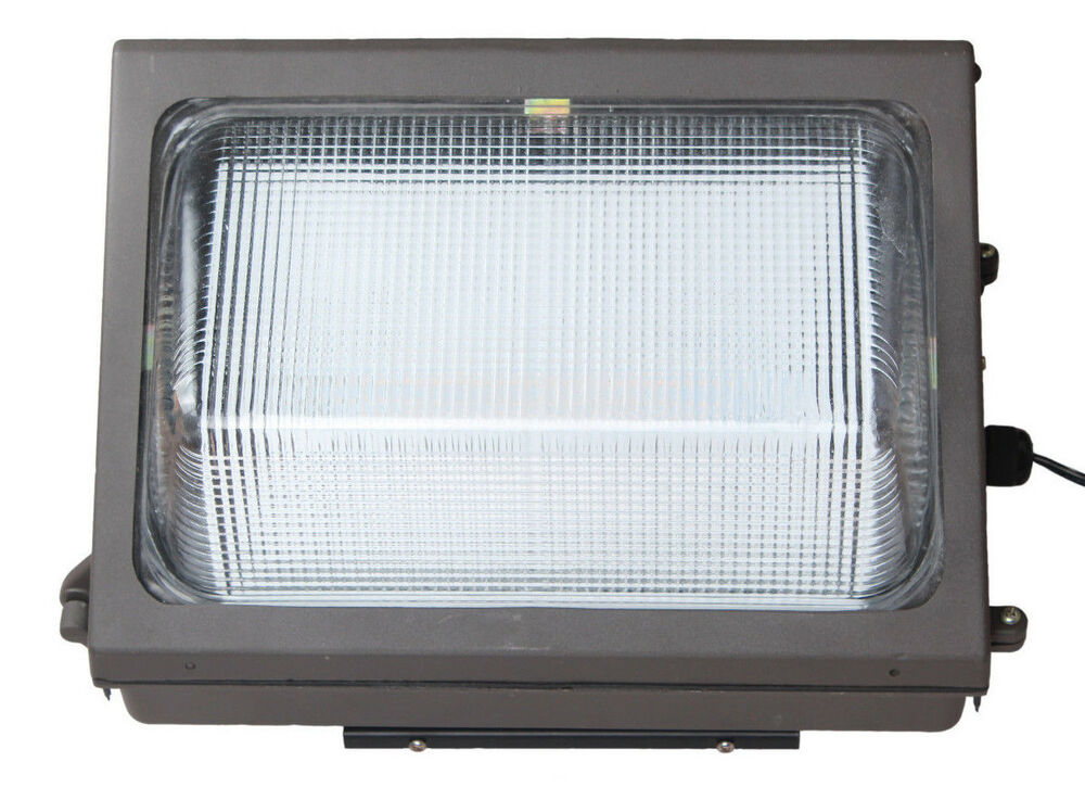 LED Wall Pack 60W Fixture Light Energy Efficient Building Outdoor Construction eBay