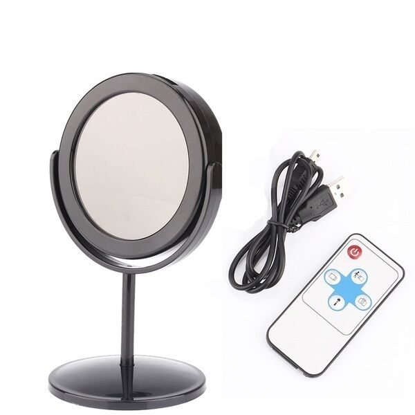 mini dvr spy camera video recorder in tiny table mirror with motion detection ebay. Black Bedroom Furniture Sets. Home Design Ideas