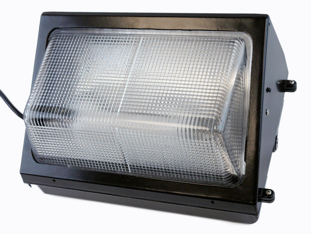 Induction Replaces Led Wall Pack 40w Fixture Light Energy Efficient Outdoor Ebay