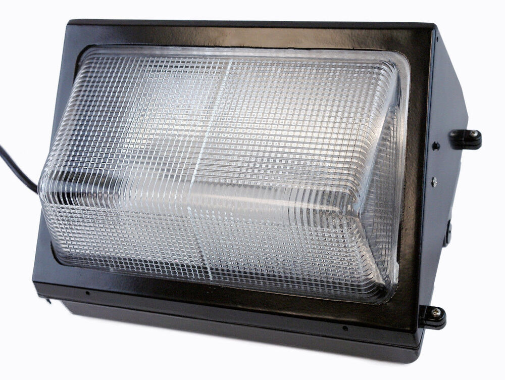 Wall Pack Light Parts : Induction Replaces LED Wall Pack 40W Fixture Light Energy Efficient Outdoor eBay