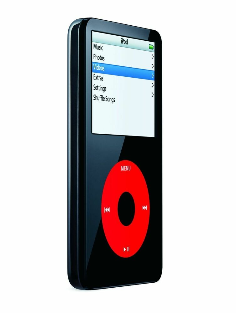 Custom 2000mah 120 GB iPod Classic Video 5th Gen Black ...