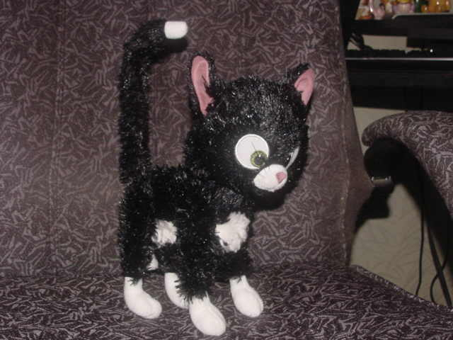 11 Quot Poseable Mittens Kitten Plush Toy From Disney Movie