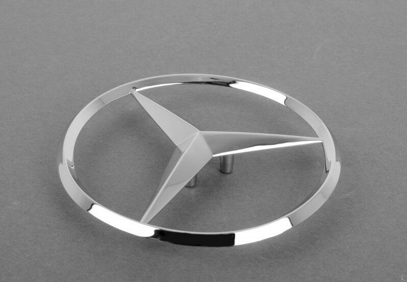 Mercedes benz clk e class genuine emblem trunk star clk320 for Mercedes benz trunk emblem