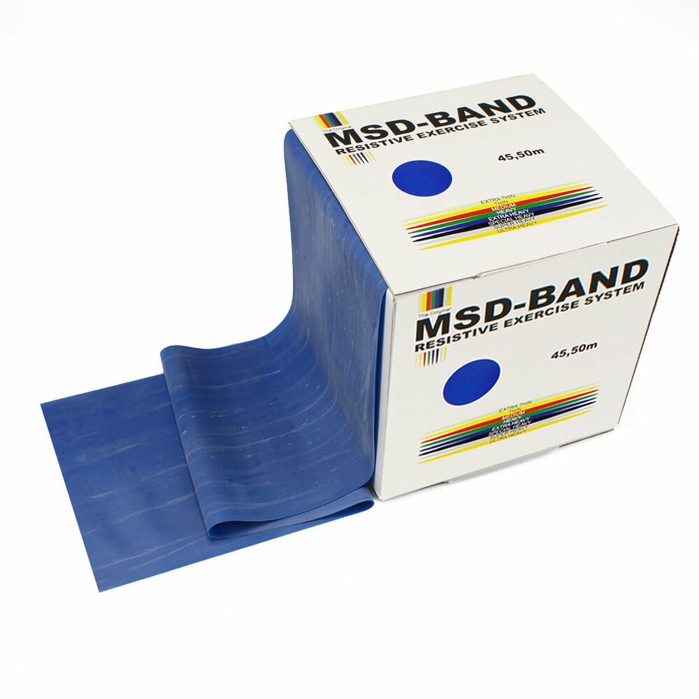 MSD Band BLUE Exercise Resistance Fitness Pilates Yoga